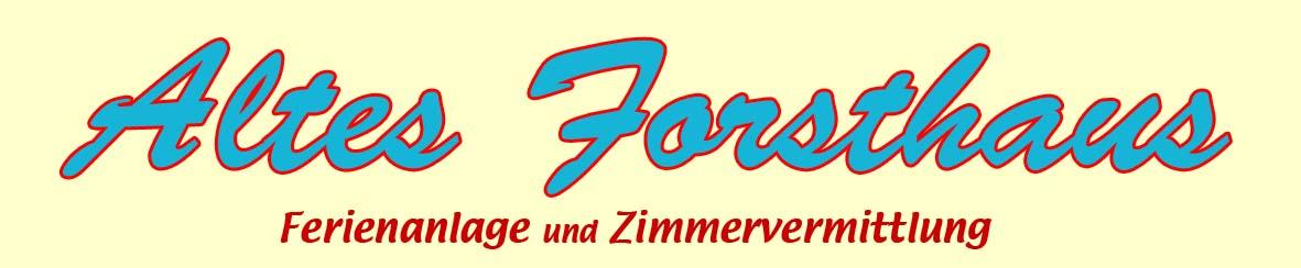 Logo Altes Forsthaus, Ostseebad Nienhagen, Ostsee
